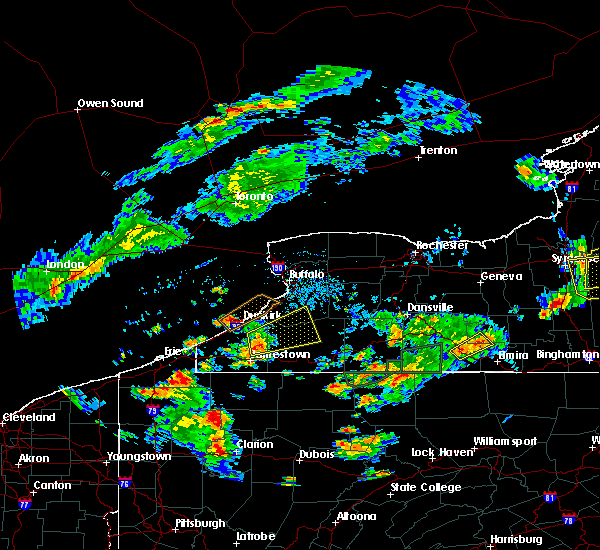 Radar Image for Severe Thunderstorms near Little Valley, NY at 7/16/2018 7:52 PM EDT