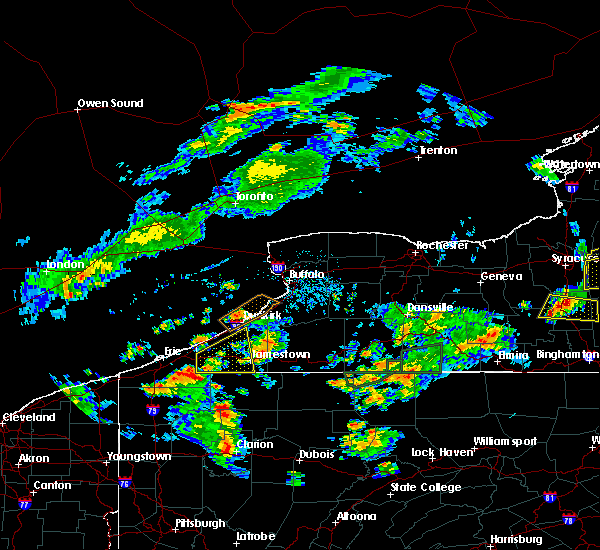 Radar Image for Severe Thunderstorms near Chautauqua, NY at 7/16/2018 8:02 PM EDT