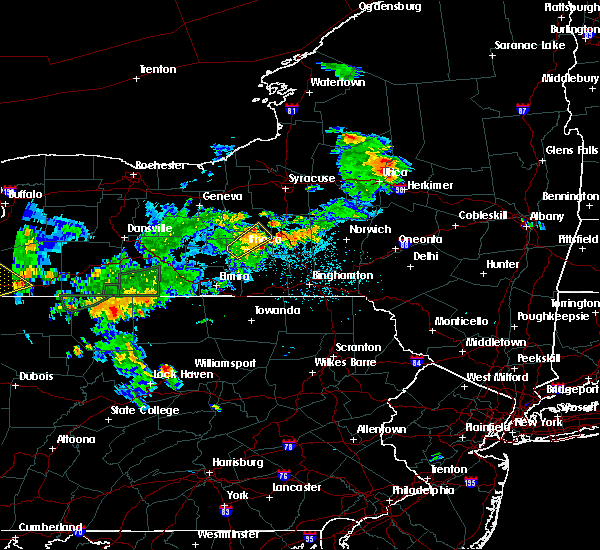 Radar Image for Severe Thunderstorms near Cortland West, NY at 7/16/2018 9:06 PM EDT