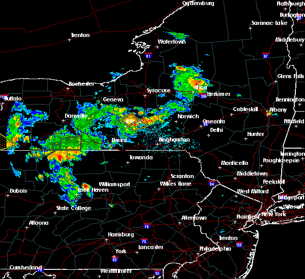 Radar Image for Severe Thunderstorms near Cortland West, NY at 7/16/2018 9:12 PM EDT