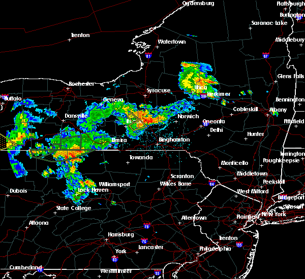 Radar Image for Severe Thunderstorms near Cortland West, NY at 7/16/2018 9:28 PM EDT