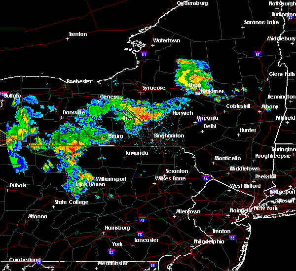Radar Image for Severe Thunderstorms near Cortland West, NY at 7/16/2018 9:31 PM EDT