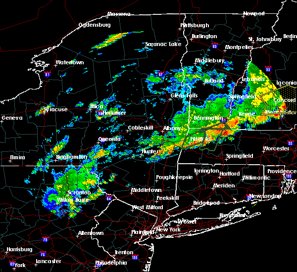 Radar Image for Severe Thunderstorms near Pittsfield, MA at 7/17/2018 11:30 AM EDT