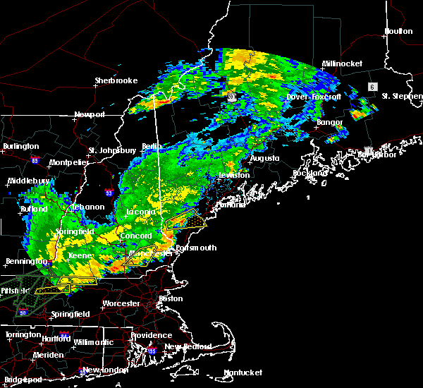 Radar Image for Severe Thunderstorms near Raymond, NH at 7/17/2018 12:23 PM EDT