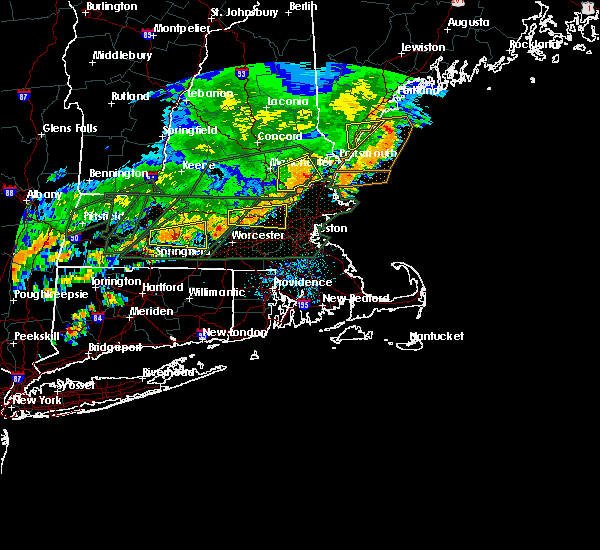 Radar Image for Severe Thunderstorms near Methuen Town, MA at 7/17/2018 1:18 PM EDT