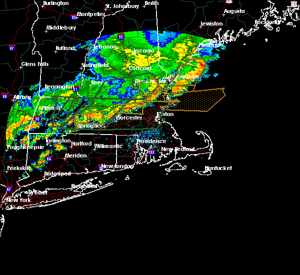 Radar Image for Severe Thunderstorms near Raymond, NH at 7/17/2018 1:27 PM EDT