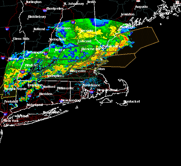 Radar Image for Severe Thunderstorms near Lowell, MA at 7/17/2018 1:36 PM EDT