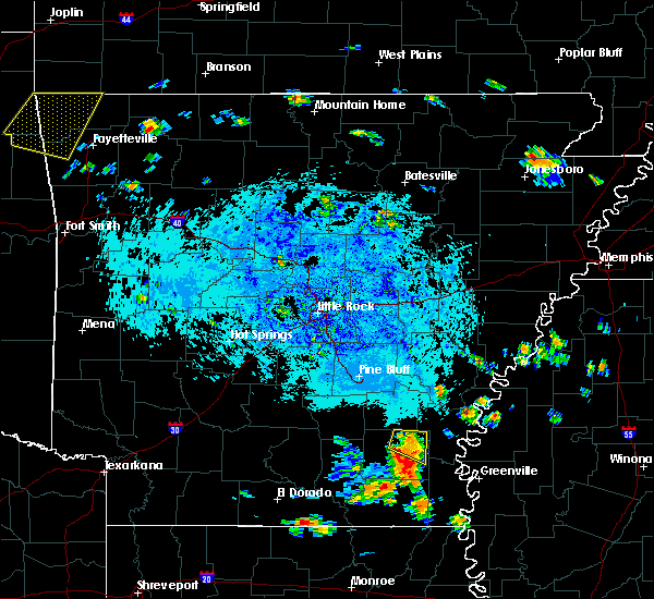 Radar Image for Severe Thunderstorms near Winchester, AR at 7/17/2018 2:25 PM CDT