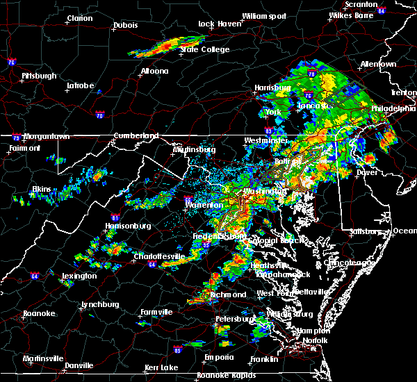 Radar Image for Severe Thunderstorms near Queenland, MD at 7/17/2018 3:44 PM EDT