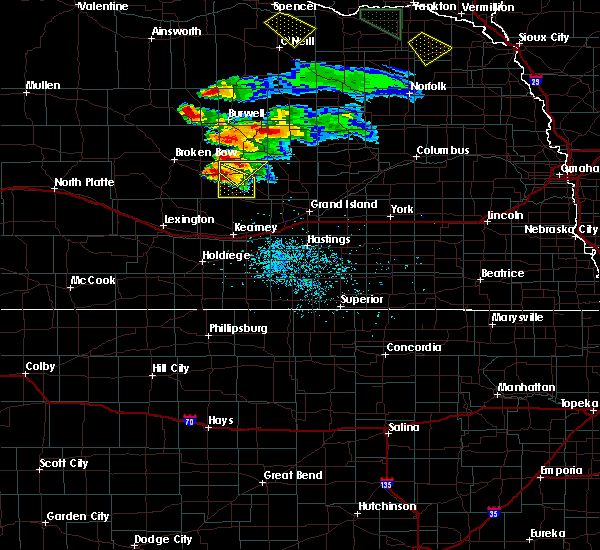 Radar Image for Severe Thunderstorms near Litchfield, NE at 7/18/2018 8:26 PM CDT