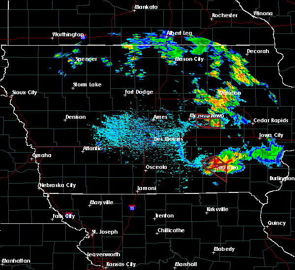 Radar Image for Severe Thunderstorms near Agency, IA at 7/19/2018 5:28 PM CDT