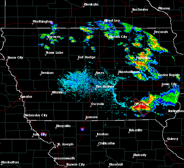 Radar Image for Severe Thunderstorms near Agency, IA at 7/19/2018 5:44 PM CDT