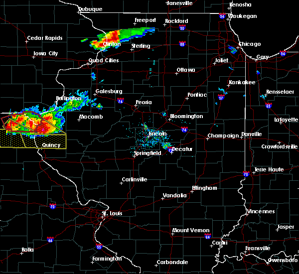 Radar Image for Severe Thunderstorms near Quincy, IL at 7/19/2018 7:30 PM CDT