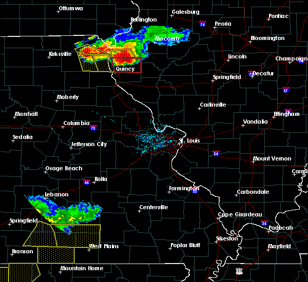 Radar Image for Severe Thunderstorms near Newark, MO at 7/19/2018 7:45 PM CDT
