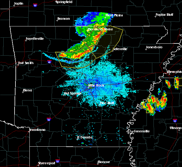 Radar Image for Severe Thunderstorms near Clinton, AR at 7/19/2018 8:59 PM CDT