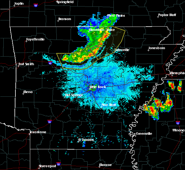 Radar Image for Severe Thunderstorms near Clinton, AR at 7/19/2018 9:08 PM CDT