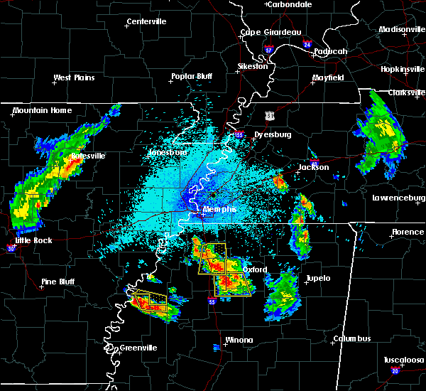 Radar Image for Severe Thunderstorms near Sardis, MS at 7/19/2018 10:02 PM CDT