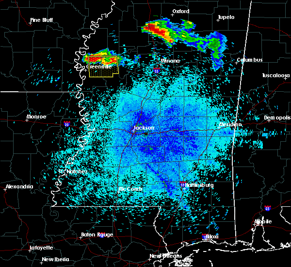 Radar Image for Severe Thunderstorms near Inverness, MS at 7/19/2018 11:10 PM CDT
