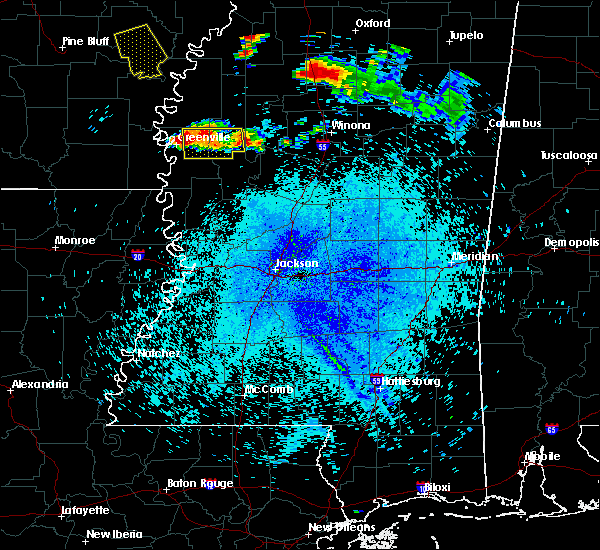 Radar Image for Severe Thunderstorms near Inverness, MS at 7/19/2018 11:34 PM CDT