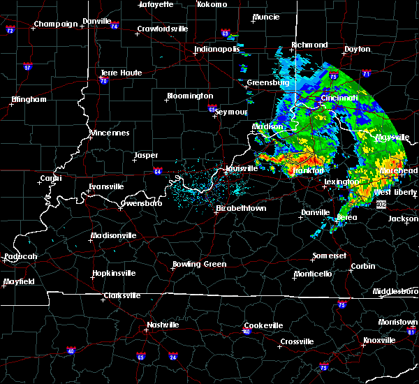 Radar Image for Severe Thunderstorms near Monterey, KY at 7/20/2018 9:12 AM EDT