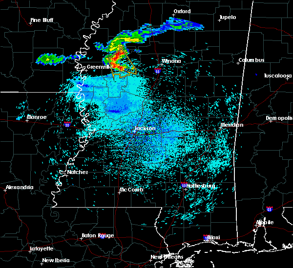 Radar Image for Severe Thunderstorms near Inverness, MS at 7/20/2018 1:10 PM CDT