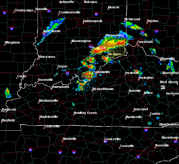 Radar Image for Severe Thunderstorms near Hanover, IN at 7/20/2018 2:17 PM EDT