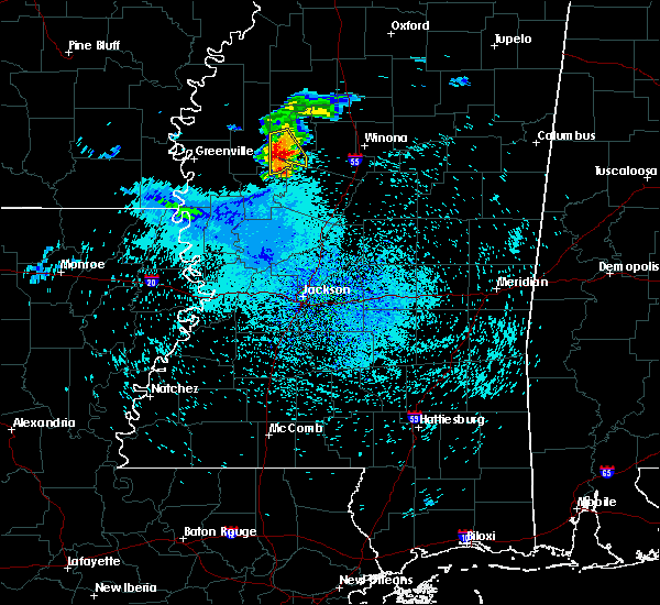 Radar Image for Severe Thunderstorms near Greenwood, MS at 7/20/2018 1:29 PM CDT