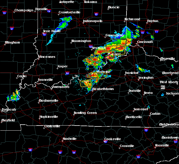 Radar Image for Severe Thunderstorms near Hanover, IN at 7/20/2018 2:35 PM EDT