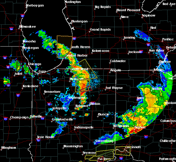 Radar Image for Severe Thunderstorms near Sidney, IN at 7/20/2018 2:41 PM EDT