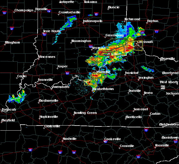 Radar Image for Severe Thunderstorms near Brooksburg, IN at 7/20/2018 2:52 PM EDT