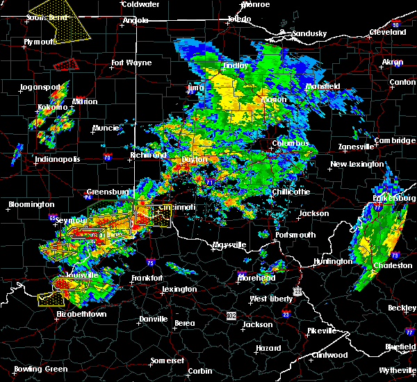 Radar Image for Severe Thunderstorms near Rising Sun, IN at 7/20/2018 2:52 PM EDT