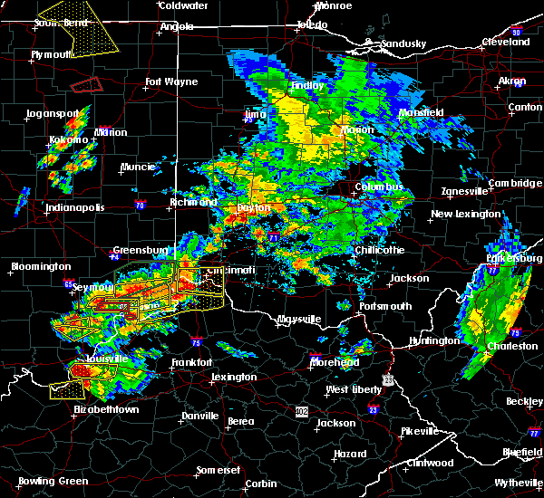 Radar Image for Severe Thunderstorms near Vevay, KY at 7/20/2018 2:52 PM EDT