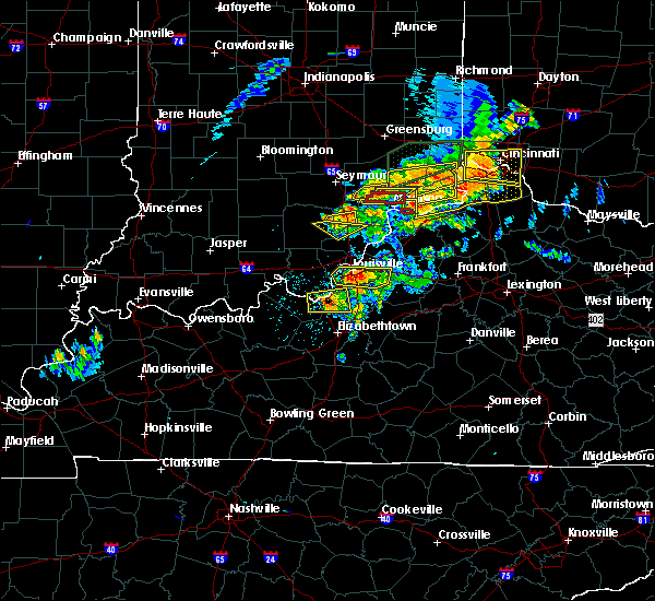 Radar Image for Severe Thunderstorms near Wellington, KY at 7/20/2018 2:54 PM EDT