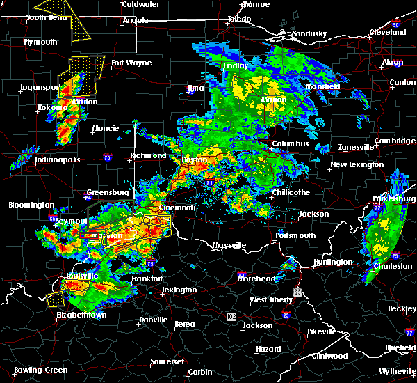 Radar Image for Severe Thunderstorms near Rising Sun, IN at 7/20/2018 3:09 PM EDT