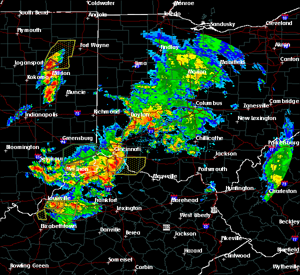 Radar Image for Severe Thunderstorms near Moscow, OH at 7/20/2018 3:18 PM EDT
