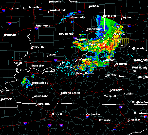 Radar Image for Severe Thunderstorms near Woodland Hills, KY at 7/20/2018 3:22 PM EDT