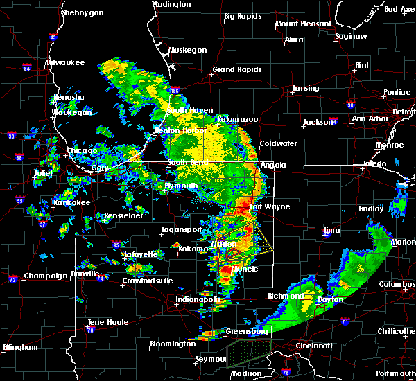 Radar Image for Severe Thunderstorms near Bryant, IN at 7/20/2018 4:04 PM EDT