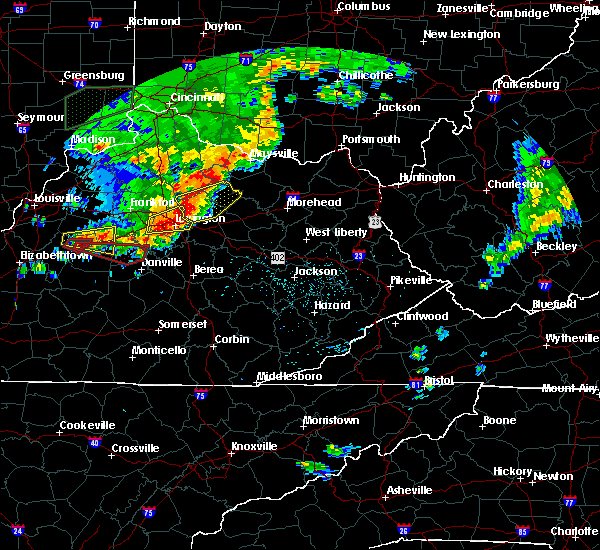 Radar Image for Severe Thunderstorms near Paris, KY at 7/20/2018 4:20 PM EDT