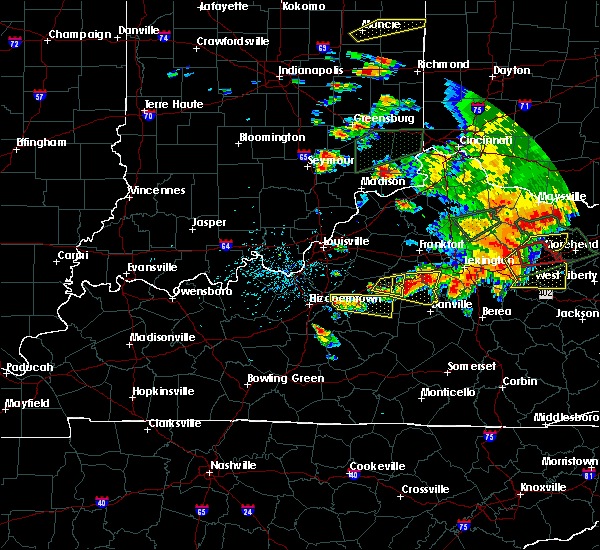 Radar Image for Severe Thunderstorms near Bardstown, KY at 7/20/2018 4:47 PM EDT