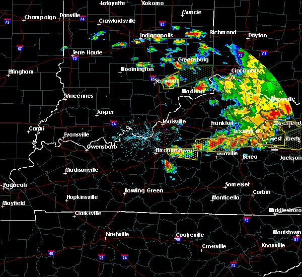 Radar Image for Severe Thunderstorms near Willisburg, KY at 7/20/2018 5:03 PM EDT