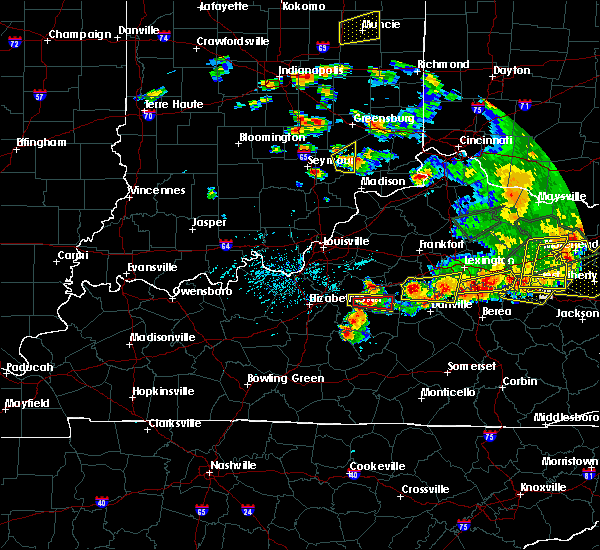 Radar Image for Severe Thunderstorms near Springfield, KY at 7/20/2018 5:18 PM EDT