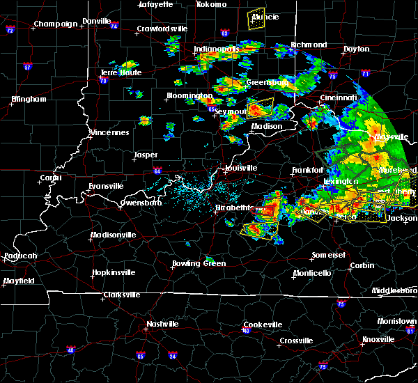 Radar Image for Severe Thunderstorms near Danville, KY at 7/20/2018 5:40 PM EDT