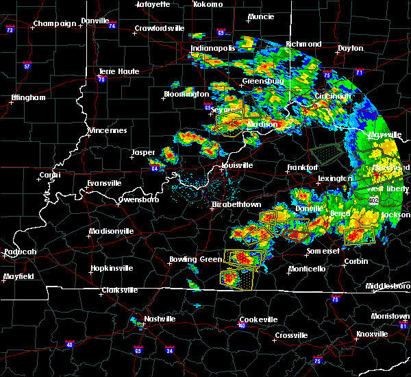 Radar Image for Severe Thunderstorms near Columbia, KY at 7/20/2018 6:00 PM CDT