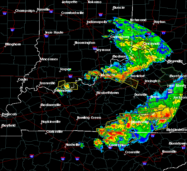 Radar Image for Severe Thunderstorms near Versailles, KY at 7/20/2018 8:30 PM EDT