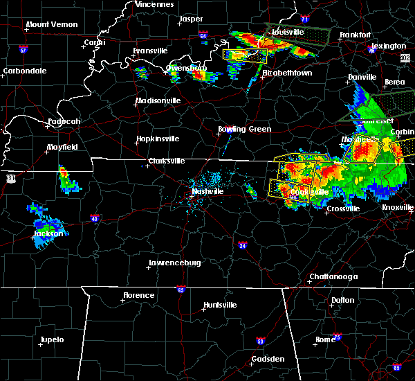 Radar Image for Severe Thunderstorms near Albany, KY at 7/20/2018 8:04 PM CDT