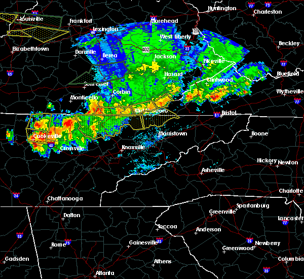 Radar Image for Severe Thunderstorms near South Wallins, KY at 7/20/2018 9:26 PM EDT