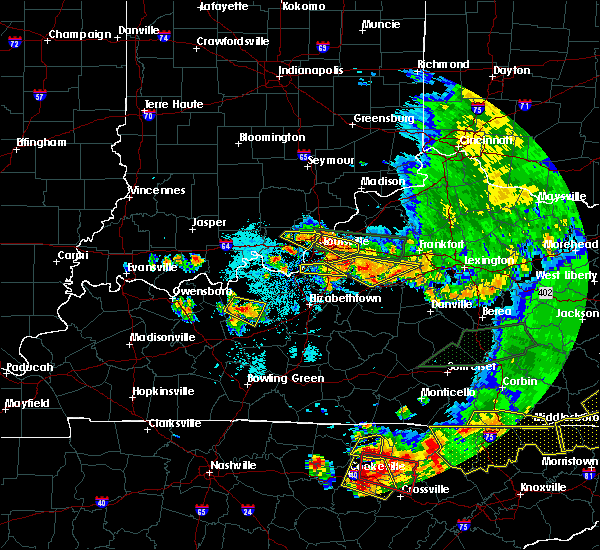 Radar Image for Severe Thunderstorms near South Park View, KY at 7/20/2018 9:38 PM EDT