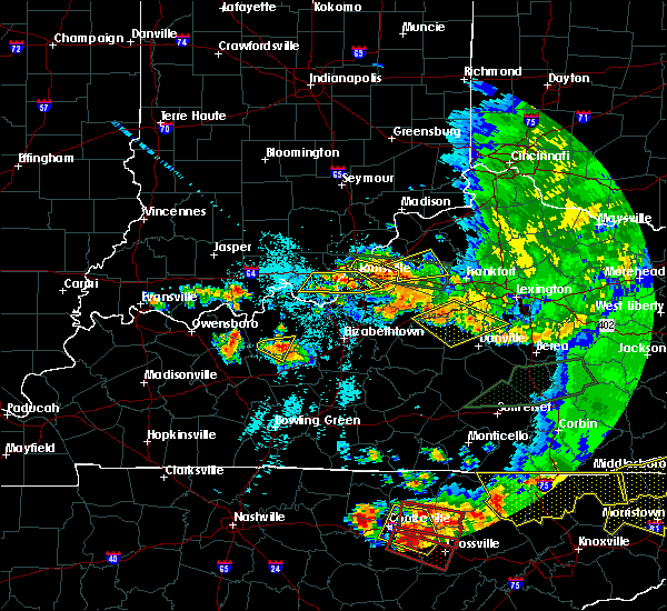 Radar Image for Severe Thunderstorms near Coldstream, KY at 7/20/2018 9:51 PM EDT