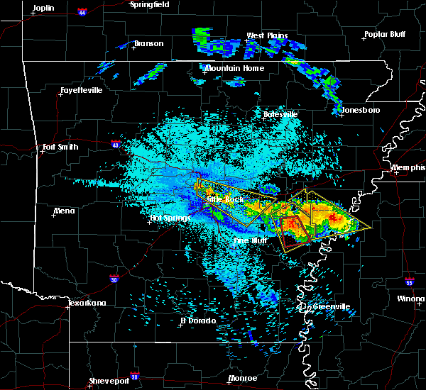 Radar Image for Severe Thunderstorms near McAlmont, AR at 7/20/2018 10:00 PM CDT