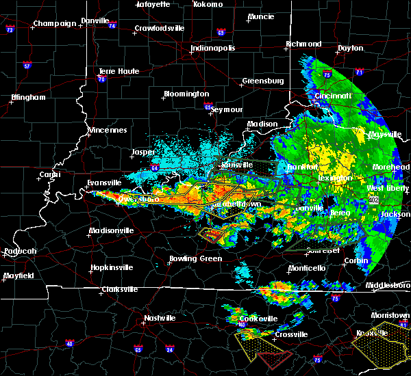 Radar Image for Severe Thunderstorms near Cecilia, KY at 7/20/2018 11:06 PM EDT